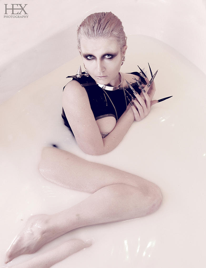 Milk Bath by HexPhotography