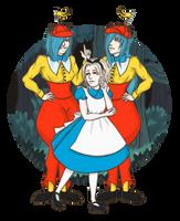 In Wonderland's Woods... by pandalamaa