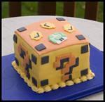 Mario Block Cake
