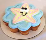 Starfish CupCake