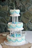 My Wedding Cake by theshaggyturtle