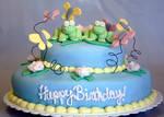 Spring Frog Cake