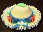 Cardinal Hat Cake