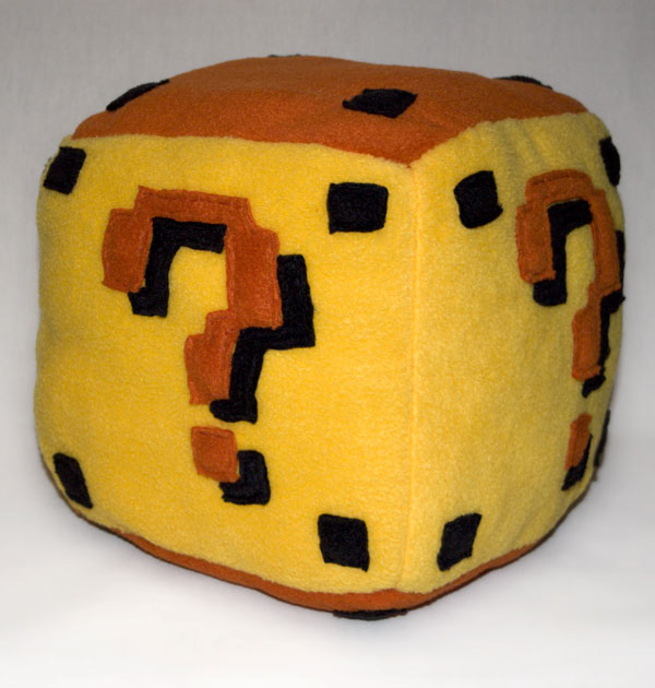 Mario Item Box by theshaggyturtle
