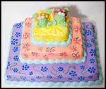 Painted Turtle Cake
