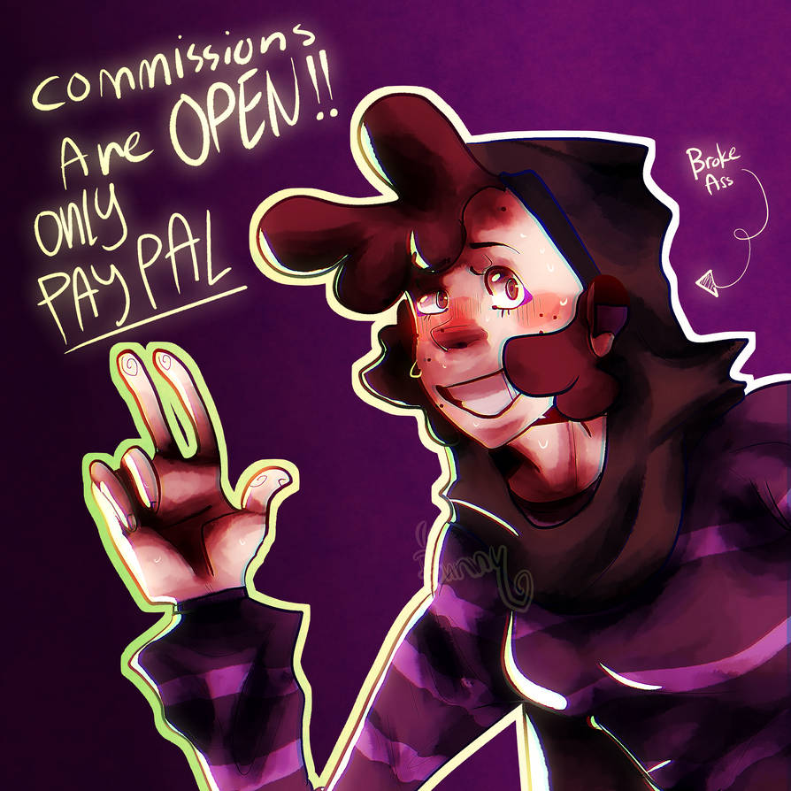 !Commissions are OPEN! by Bunnythehopper1234