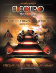Electro triangle flyer