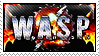 W.A.S.P. band stamp by Basement-Aviator
