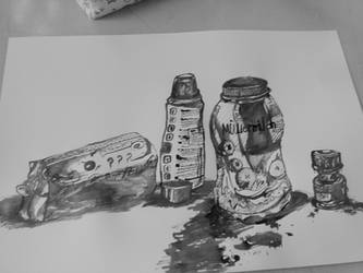 School Practice / Something realistic with ink - by Noioo