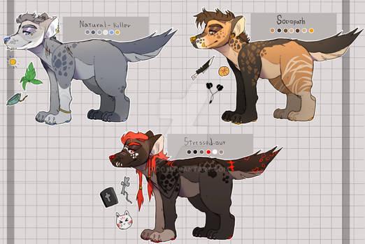 hyena | adopt |  auction