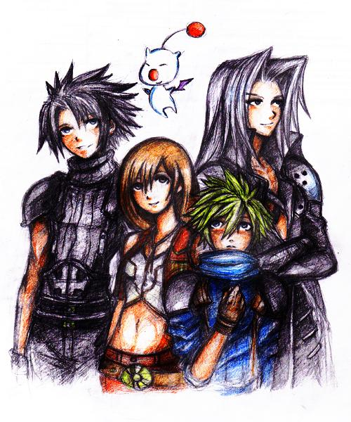 FF7 by maskedpeach
