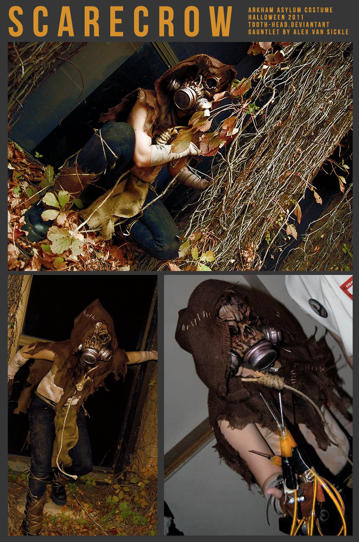 ARKHAM ASYLUM SCARECROW COSTUME by THE--ENEMY