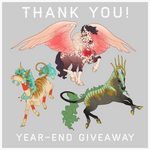 THANK YOU! Design giveaway for my watchers :')