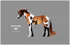 Shepard (they/them) by franknsteins