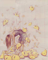 Ida and The Bees by Foozyschtuff