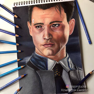 Bryan Dechart as Connor from Detroit: Become Human