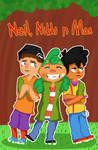 Neil, Nikki n Max by Zixzs