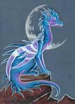 Blue dragon by Rikkimaru129