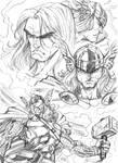 Thor Sketch Study