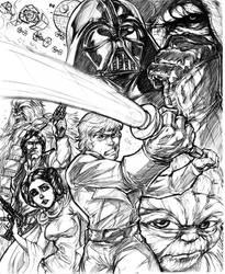 Star Wars: Forces by CdubbArt