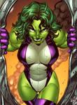 She Hulk Clrs by Nei Ruffino