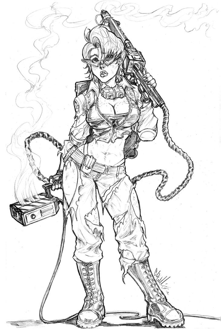 Coloring pages ghostbusters - Ghostbusters