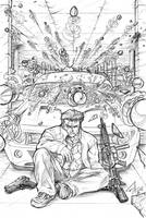 Lock N Load Cover Commish by CdubbArt