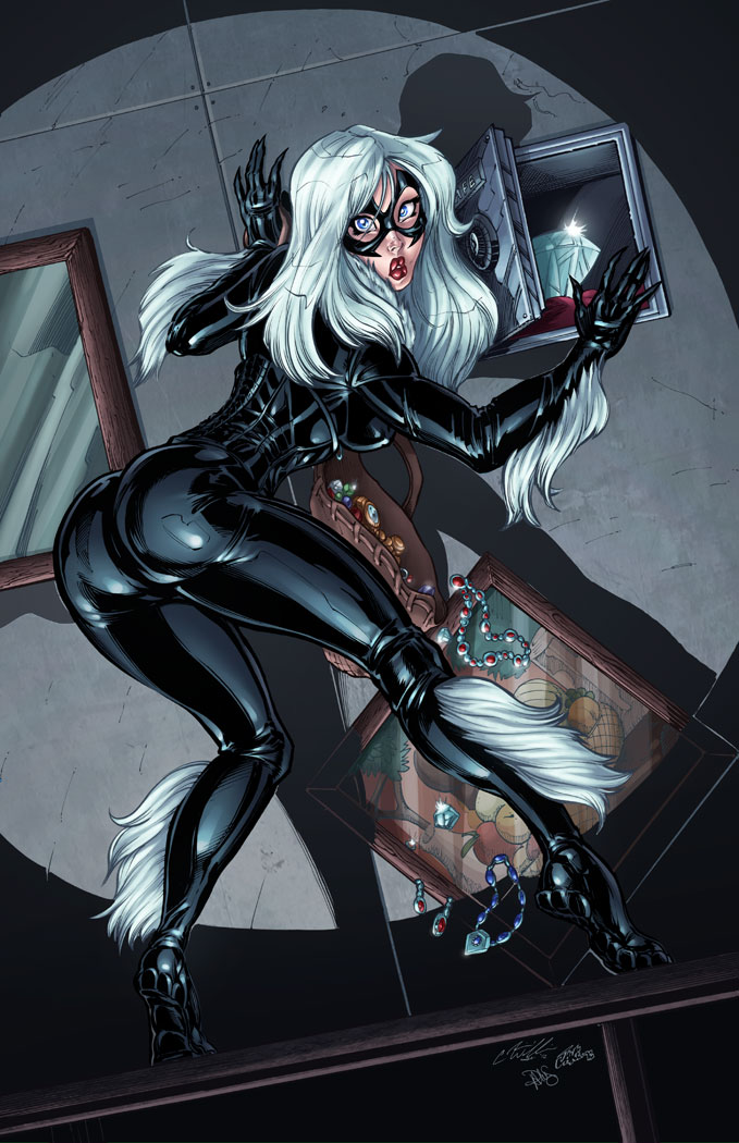 Black Cat's Bad Luck by CdubbArt