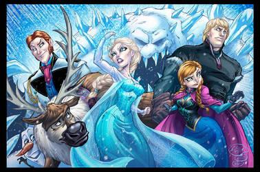 Frozen Colored