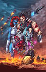 X-men: Age of Days of Future Past Clrs