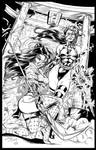 Shi/Psylocke: Seishin-tekina shi INKS