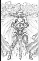 Lady Death by CdubbArt
