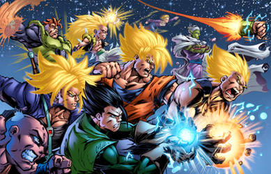 DBZ Warriors Colored