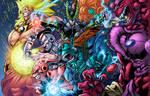 DBZ Villains Colored