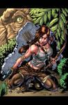 Tomb Raider Pinup Colors