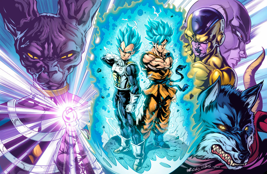 dragon ball super saiyan rivals clrs by cdubbart - Dragon B