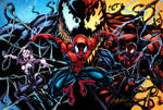 Spidey Collage 2 Colors