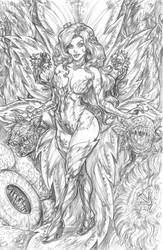 Poison Ivy by CdubbArt