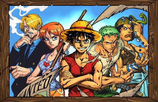 ONE PIECE: C-DUBB STYLE COLORS