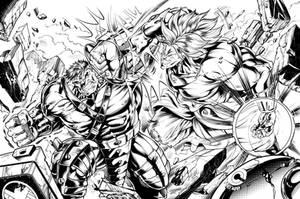 HVB (Hulk v Broly) Inks