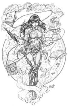Ghostbusters: Zatanna Alternate