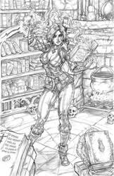 Triss' Firecast by CdubbArt
