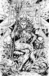 Ghostbusters: Queen Mera Inks