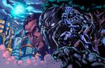 Black Panther: Wakandan Warrior Clrs Night Glow