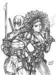Deadpool X Domino