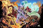 Chronos V Ares (Time N' War) Colors