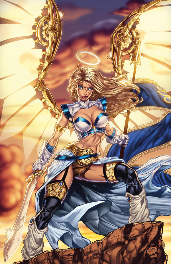 Penny For Your Soul 6: Joan of Arc Colors by CdubbArt