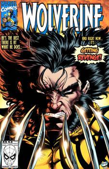 Wolverine headshot Mock Cover