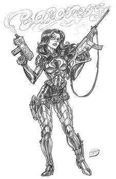 Baroness Gunsmoked