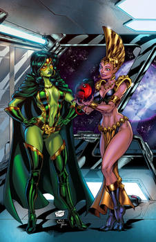 Gamora And Bereet Colors